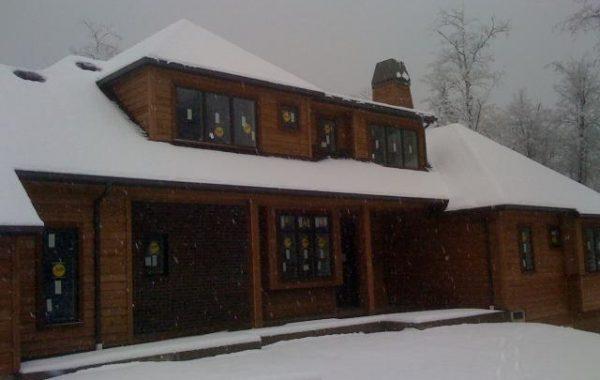 Snowy work day